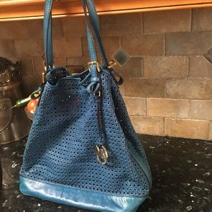 Michael Kors Genuine Leather Bag with Purse